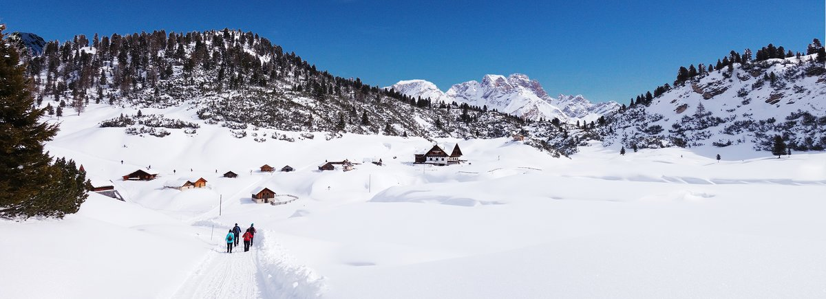 Pustertal Header Winter